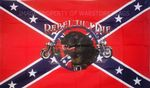REBEL TIL I DIE (CONFEDERATE) - 5 X 3 FLAG